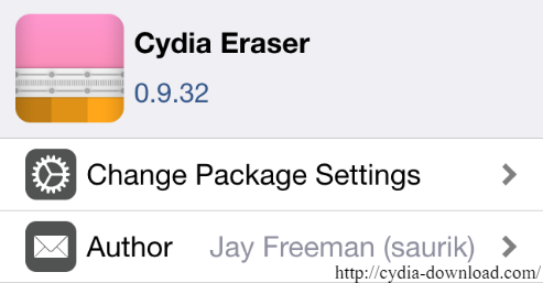 Cydia download Cydia Eraser iOS 9.3.3