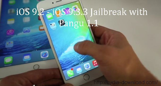 iOS 9.3.3 cydia download with Pangu 1.1