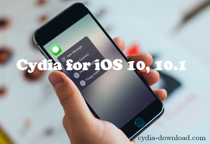 iOS 10 Cydia download status