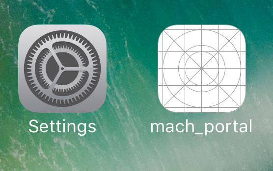 mach_portal iOS 10