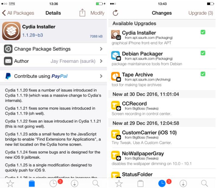 cydia beta 2