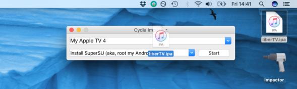 cydia impactor liberTV