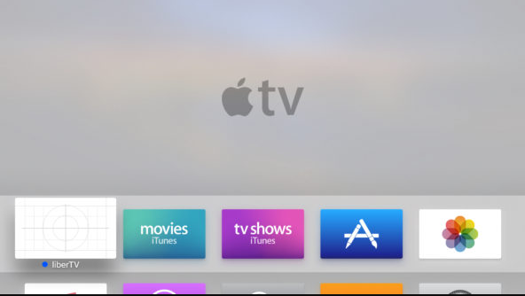 home screen app liberTV