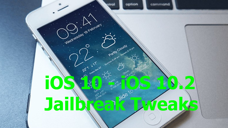 iOS 10.2 Cydia tweaks