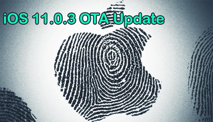 OTA Update iOS 11.0.3