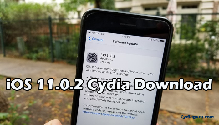 iOS 11.0.2 Cydia Download