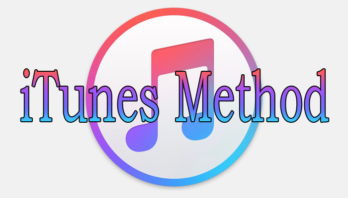 iTunes Method