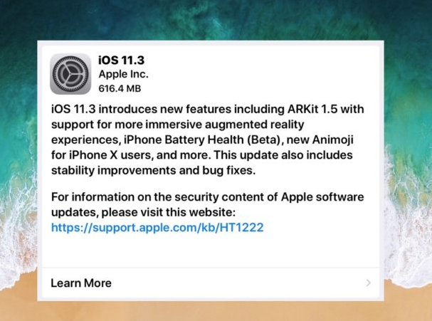 Cydia iOS 11.3